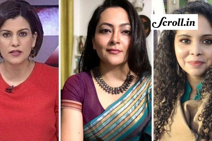 women journalist india