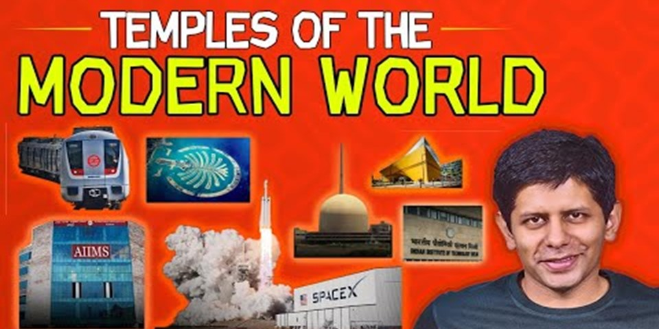 temples of modern world