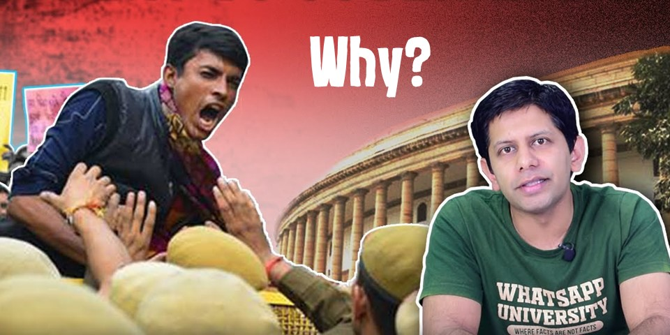 why indians protest